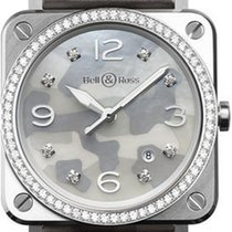 Bell & Ross BR S Steel 39mm Grey Arabic numerals United States of America, New Jersey, Princeton