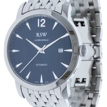 RSW Steel 42mm Automatic Rsw 7343 ss 3 new