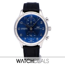 IWC Steel 41mm Automatic IW371432 pre-owned