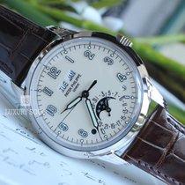 Patek Philippe Perpetual Calendar White gold 40mm Champagne Arabic numerals UAE, Dubai