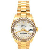 Rolex Datejust Yellow gold 31mm Silver United States of America, California, Los Angeles
