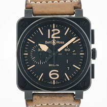 Bell & Ross BR 03-94 Chronographe Steel 42mm Black Arabic numerals United States of America, California, Pleasant Hill