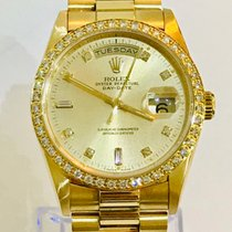 Rolex 18348 Yellow gold Day-Date 36mm pre-owned
