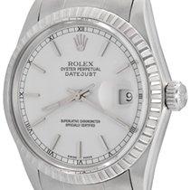 Rolex Datejust Steel 35mm White No numerals