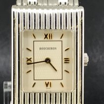 Boucheron Reflet Steel 32mm White Roman numerals