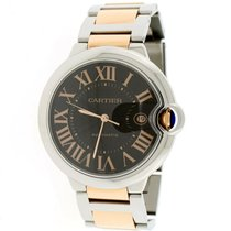 Cartier Ballon Bleu 42mm Steel 42mm Brown Roman numerals United States of America, New York, New York