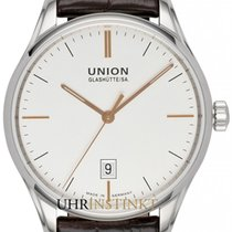 Union Glashütte Viro Date new 2020 Automatic Watch with original box and original papers D011.407.16.031.01