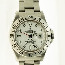 Rolex Explorer II Steel 40mm White No numerals United States of America, Michigan, Southfield