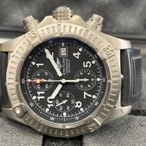 Breitling Super Avenger Acero 48mm Negro Árabes