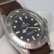 Rolex Submariner (No Date) usados 40mm Negro Cuero