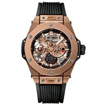Hublot Oro rosa Cuerda manual Transparente Sin cifras 45mm nuevo Big Bang Meca-10