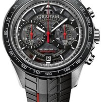 Graham Silverstone RS Acero 42mm Transparente Sin cifras