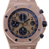 Audemars Piguet Royal Oak Offshore Chronograph Roséguld 42mm Svart Inga siffror Sverige, Gothenburg