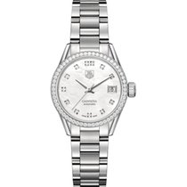 TAG Heuer Carrera Lady WAR2415.BA0776 Tag Heuer Calibre 9 Diamanti Cassa Acciaio 2017 new