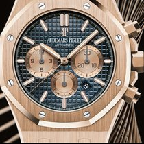 Audemars Piguet Royal Oak Chronograph BLUE DIAL 20th-anniversa...