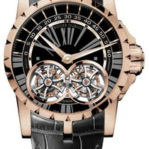 Roger Dubuis Excalibur Double Flying Tourbillon 18K Rose Gold...