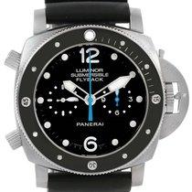 Panerai Luminor Submersible 3 Days Chrono Flyback Watch Pam615...