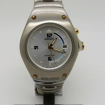 Seiko Kinetic Arctura All Stainless 3M22-0D39 Ref: SWP353P