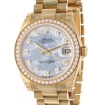 Rolex Datejust, 178288, Yellow Gold, 31mm