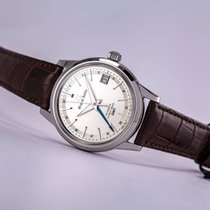 Seiko Grand Seiko Steel 39.5mm Silver No numerals United States of America, New Jersey, Princeton