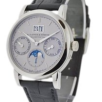 A. Lange & Söhne Platinum Automatic Silver 43mm new Saxonia