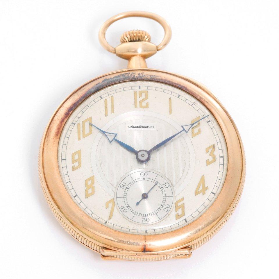 Datazione americano Waltham orologi da tasca