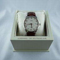 Junghans Attaché Steel 42mm White Arabic numerals