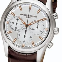 Frederique Constant Vintage Rally neu 45mm Stahl