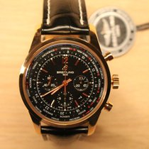Breitling Transocean Chronograph Unitime Pilot Red Gold 5N