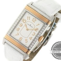 Jaeger-LeCoultre Grande Reverso Lady Ultra Thin Steel 40mm Silver Arabic numerals United States of America, Pennsylvania, Willow Grove