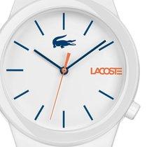 Lacoste Plastic Quartz White 41mm new