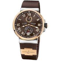 Ulysse Nardin Marine Chronometer Manufacture новые Автоподзавод Часы с оригинальными документами и коробкой 1185-126-3/45