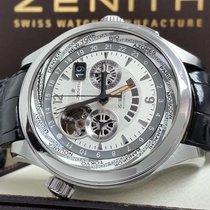 Zenith Chronograph 46mm Automatic 2012 pre-owned El Primero (Submodel) Silver