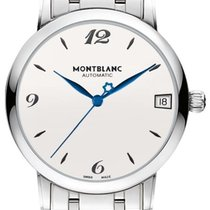 Montblanc Star Classique Steel 34mm Silver Arabic numerals United States of America, California, Moorpark