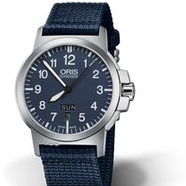 Oris BC3 Steel 42mm Blue Arabic numerals United States of America, Texas, FRISCO
