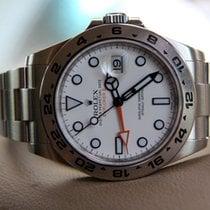 Rolex Explorer II occasion 42mm Blanc Acier