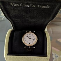 Van Cleef & Arpels Or/Acier 33mm Quartz 12898 occasion