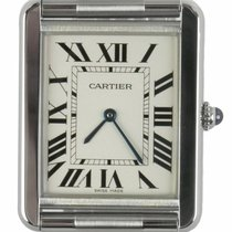 Cartier Tank Solo Steel 35mm White Roman numerals United States of America, New York, Smithtown