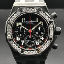 Audemars Piguet Royal Oak Offshore Lady Carbon 37mm Schwarz Arabisch