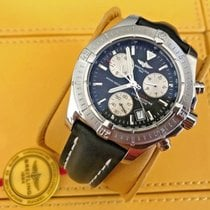 Breitling Colt Chronograph Steel 41mm Black No numerals United States of America, New Jersey, Edgewater