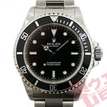 Rolex Submariner (No Date) Сталь 40mm Чёрный
