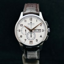 Zenith Steel Automatic White Arabic numerals 42mm new El Primero Winsor Annual Calendar
