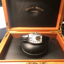 Franck Muller Platinum Manual winding Silver Roman numerals 42mm pre-owned Cintrée Curvex