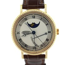 Breguet Classic Power reserve moon phase diamond pink gold