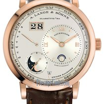 A. Lange & Söhne Lange 1 Rose gold 41.9mm Silver United States of America, New York, Airmont