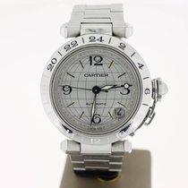 Cartier Pasha C GMT Seel  35mm (BOXonly2006) MINT