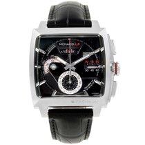 TAG Heuer Monaco Black Dial Automatic Chronograph Mens Watch...