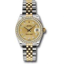 Rolex Lady-Datejust Acier 31mm Champagne