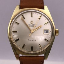 Omega vintage 1968 GENEVE automatic gold plated ref 166.041...