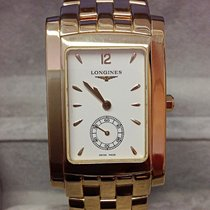 Longines Yellow gold Quartz L5.655.6.16.6 pre-owned
